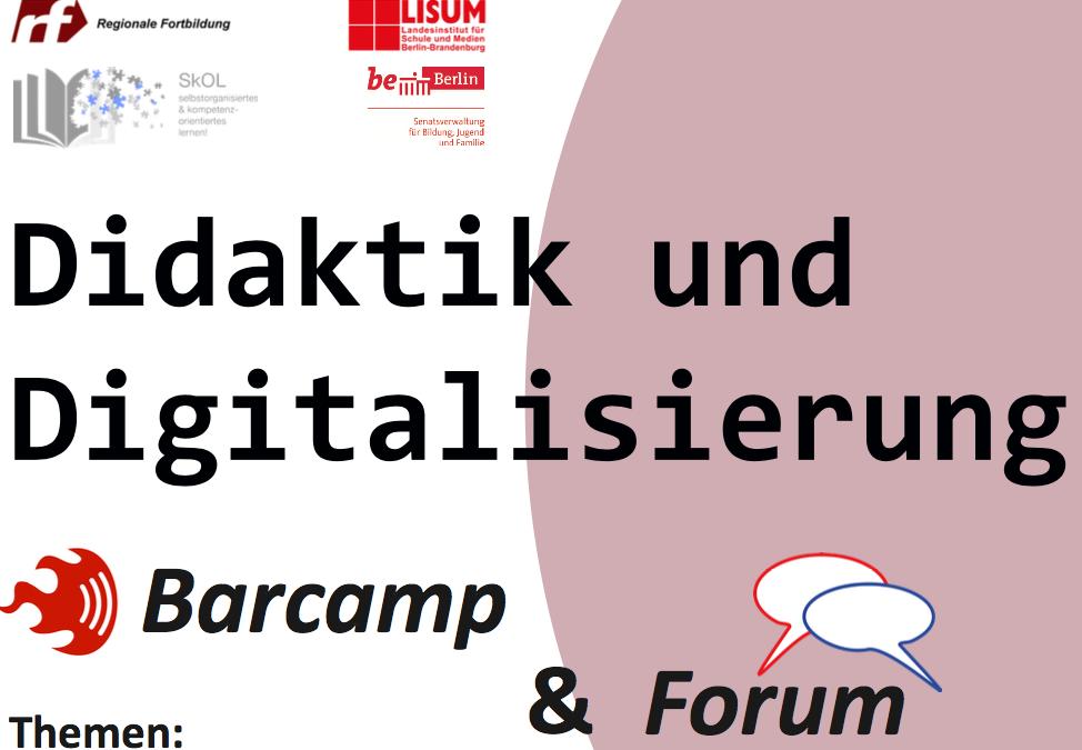 Fachtagung Schulentwicklung: Didaktik und Digitalisierung