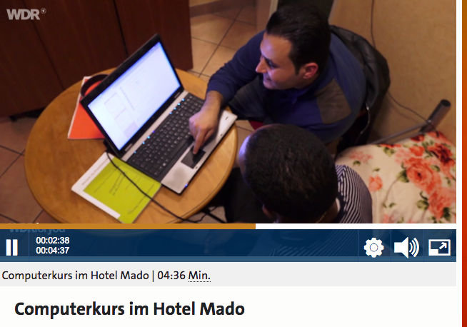 Reportage WDR4you: E-Learning im Mado